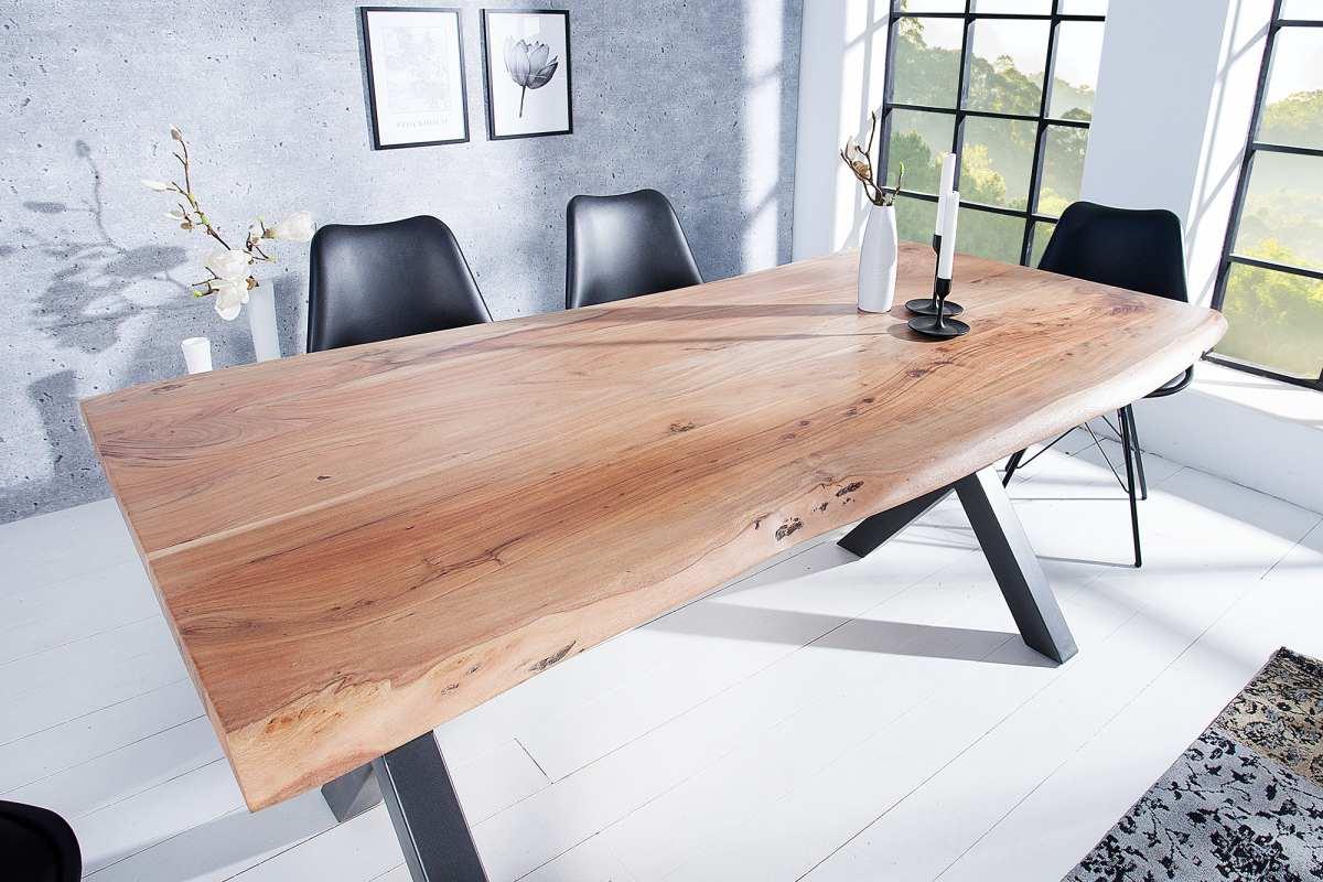 Luxusný jedálenský stôl Massive X 160 cm akácia