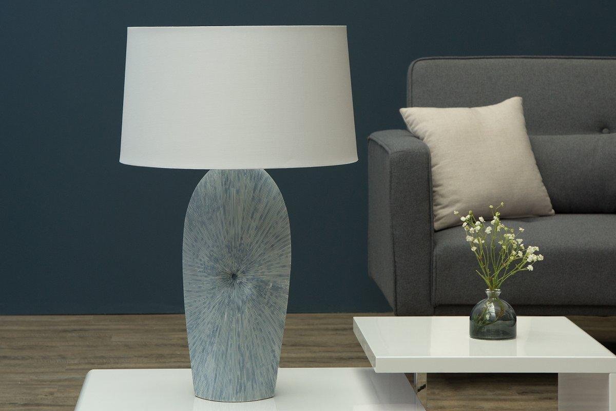 Stolná lampa Phoebe biela