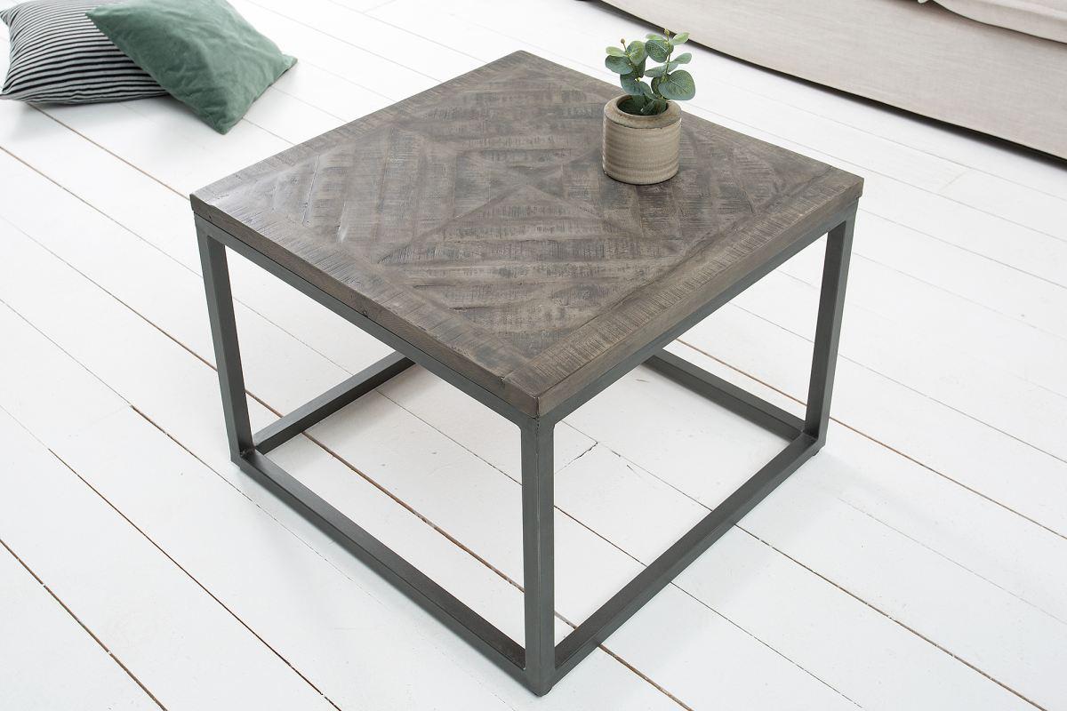 Odkladací stolík Allen sivý 60cm