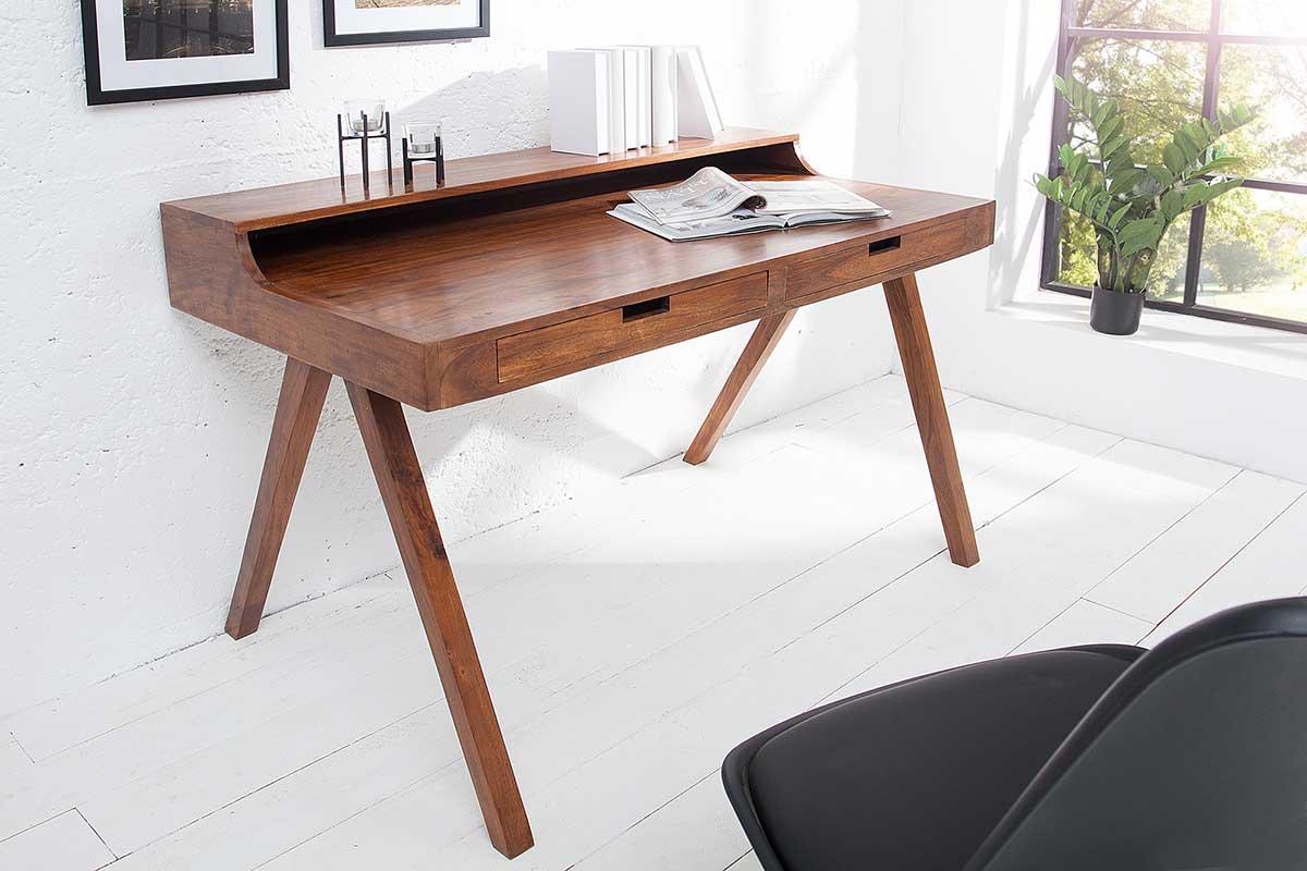 Písací stôl Freddo 120 cm akácia