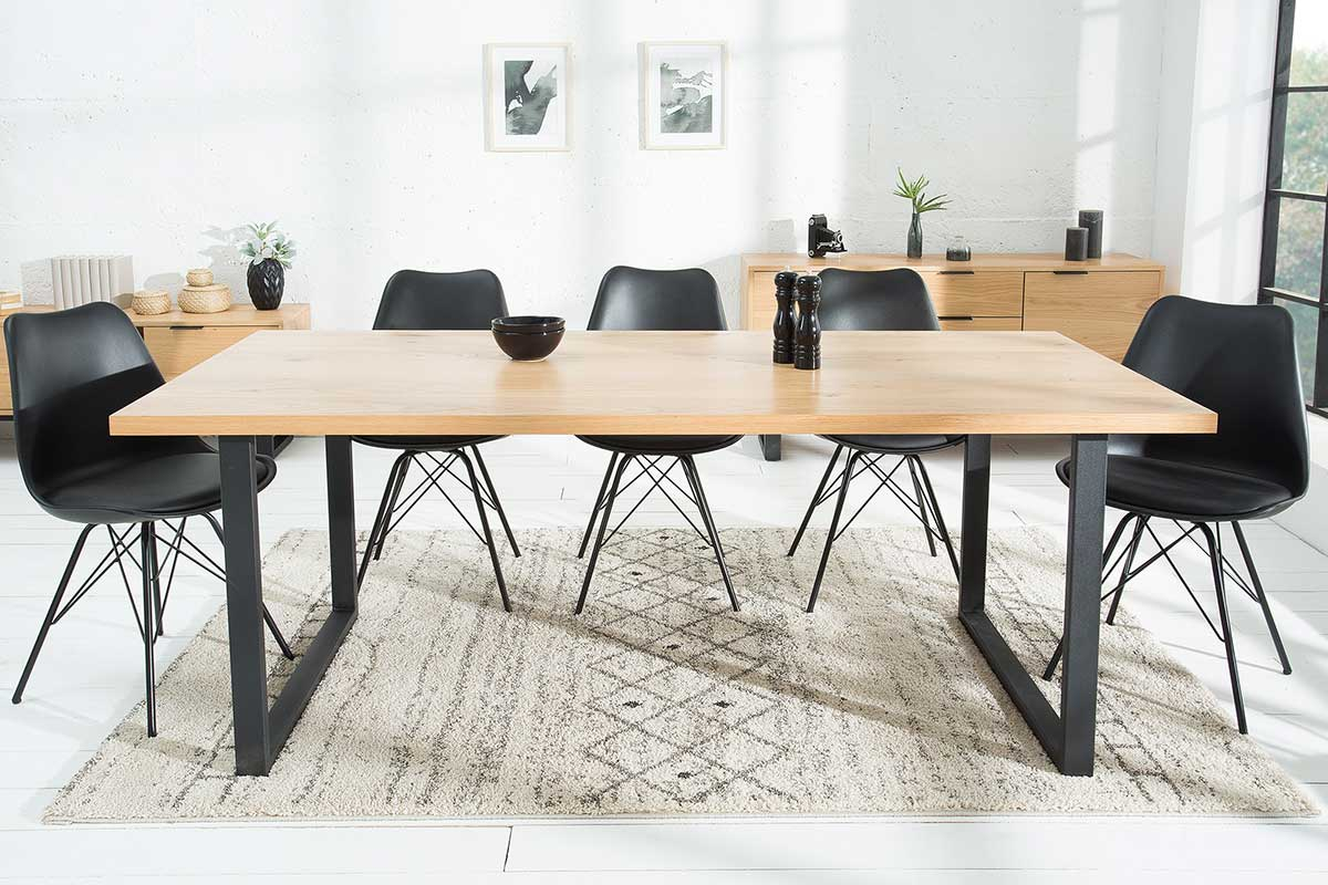 Jedálenský stôl Kira 200 cm dub