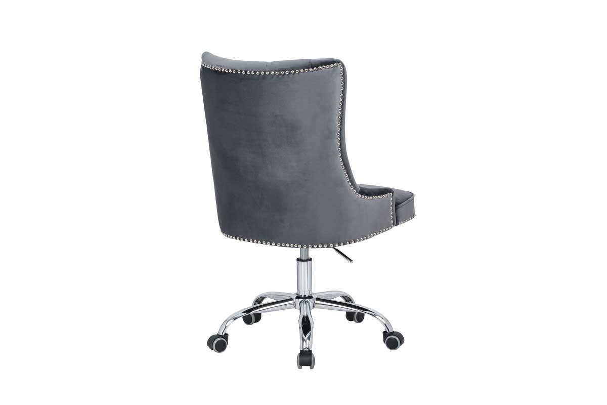 Kancelárska stolička Jett sivo-strieborná