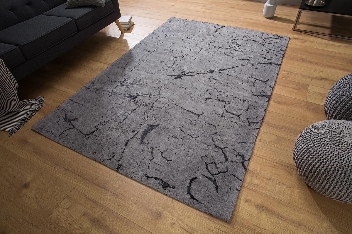 Dizajnový koberec Cohen 240x160 sivý