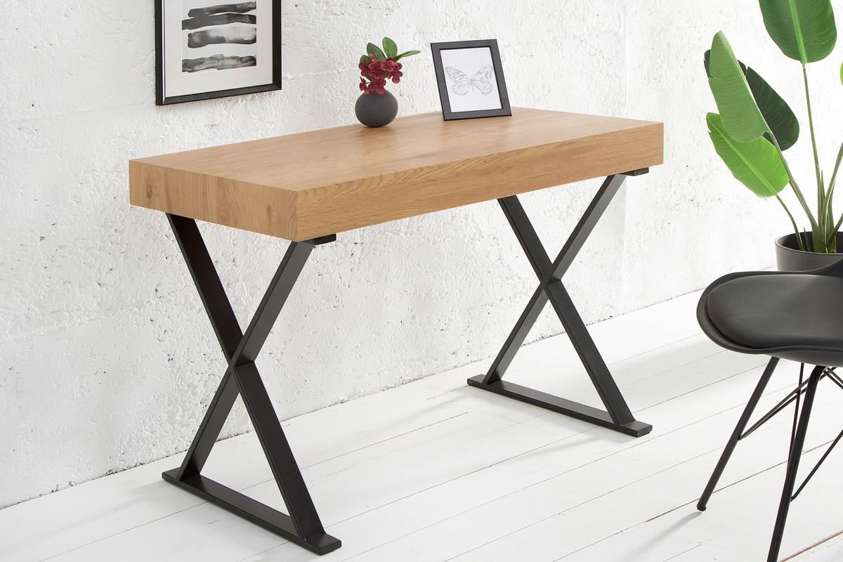 Písací stôl Goodwill bez zásuvky 100 cm dub