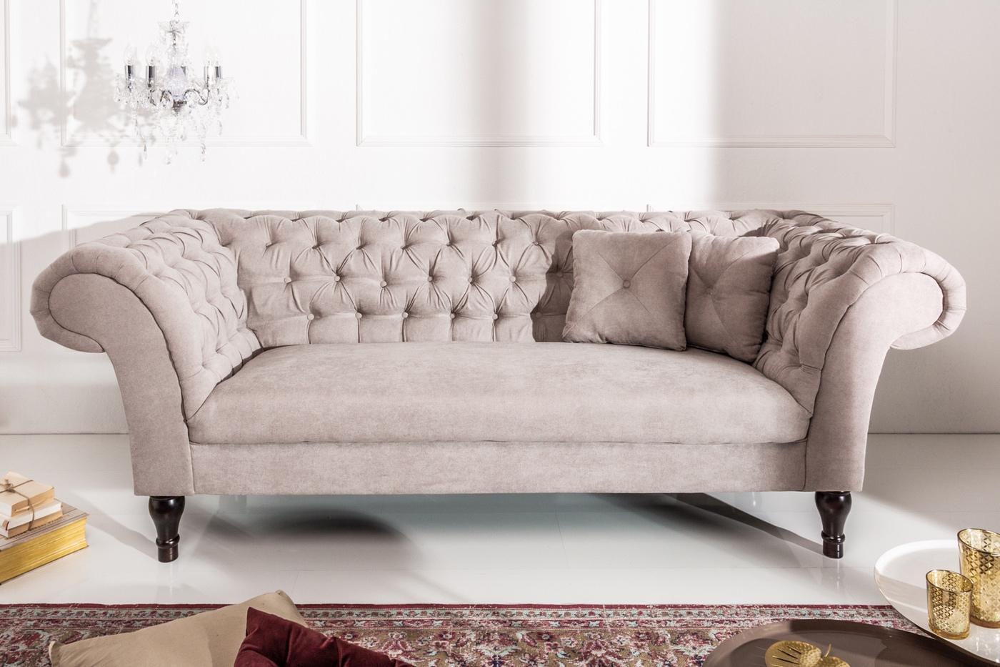 Dizajnová sedačka Rubby 230 cm hneda