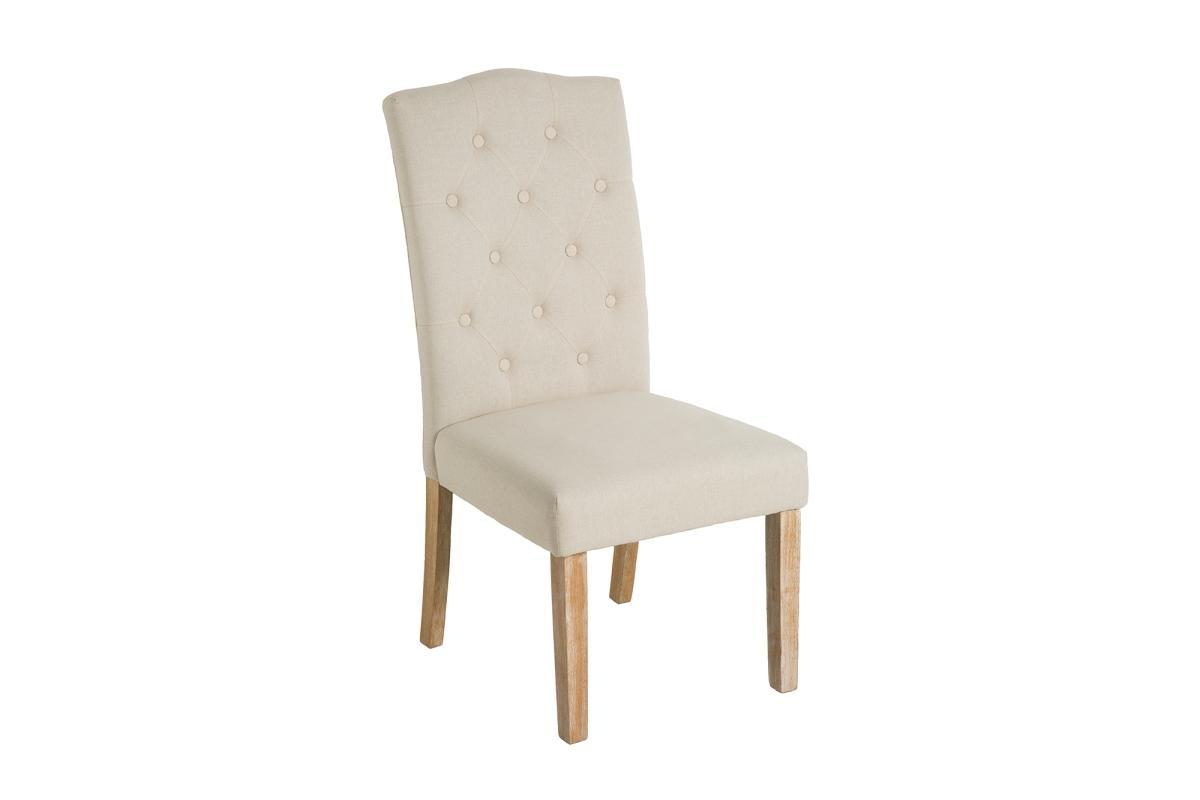 Dizajnová stolička Beau, béžová