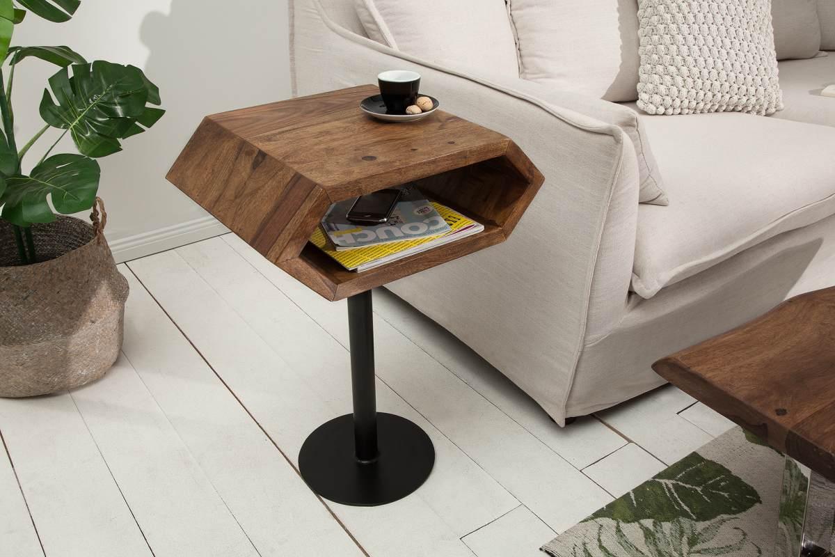 LuxD Dizajnový odkladací stolík Bethany
