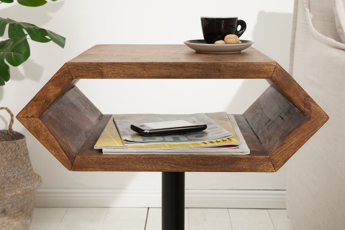 Dizajnový odkladací stolík Bethany