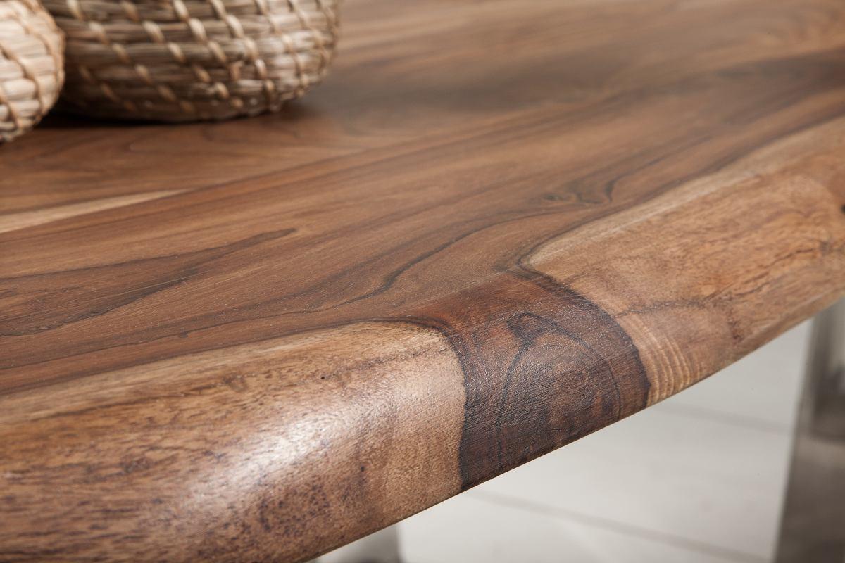 Luxusný konferenčný stolík Massive S 110 cm sheesham