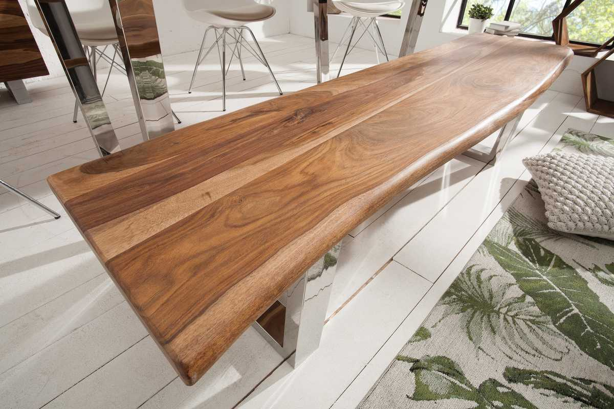 Luxusná lavica Massive S 180 cm sheesham