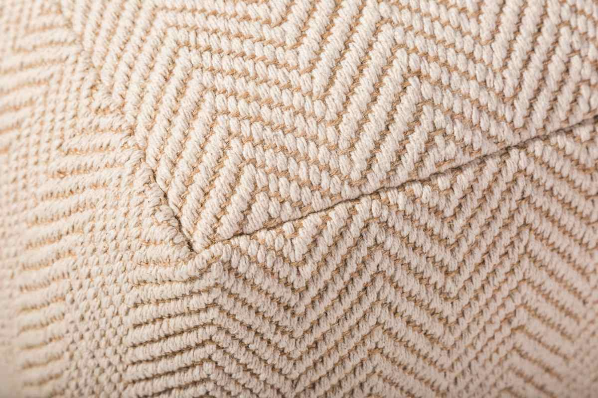 Dizajnová taburetka Raul, 50 cm, béžová