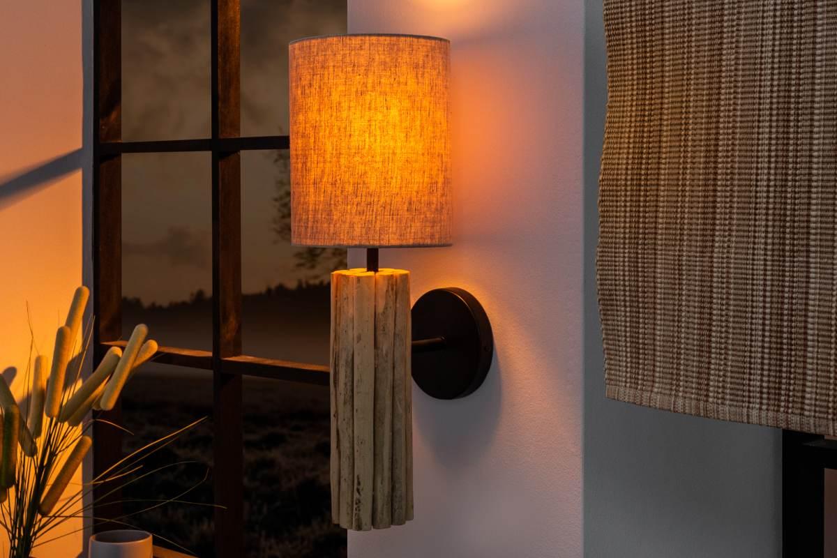 Dizajnová nástenná lampa Sarai II