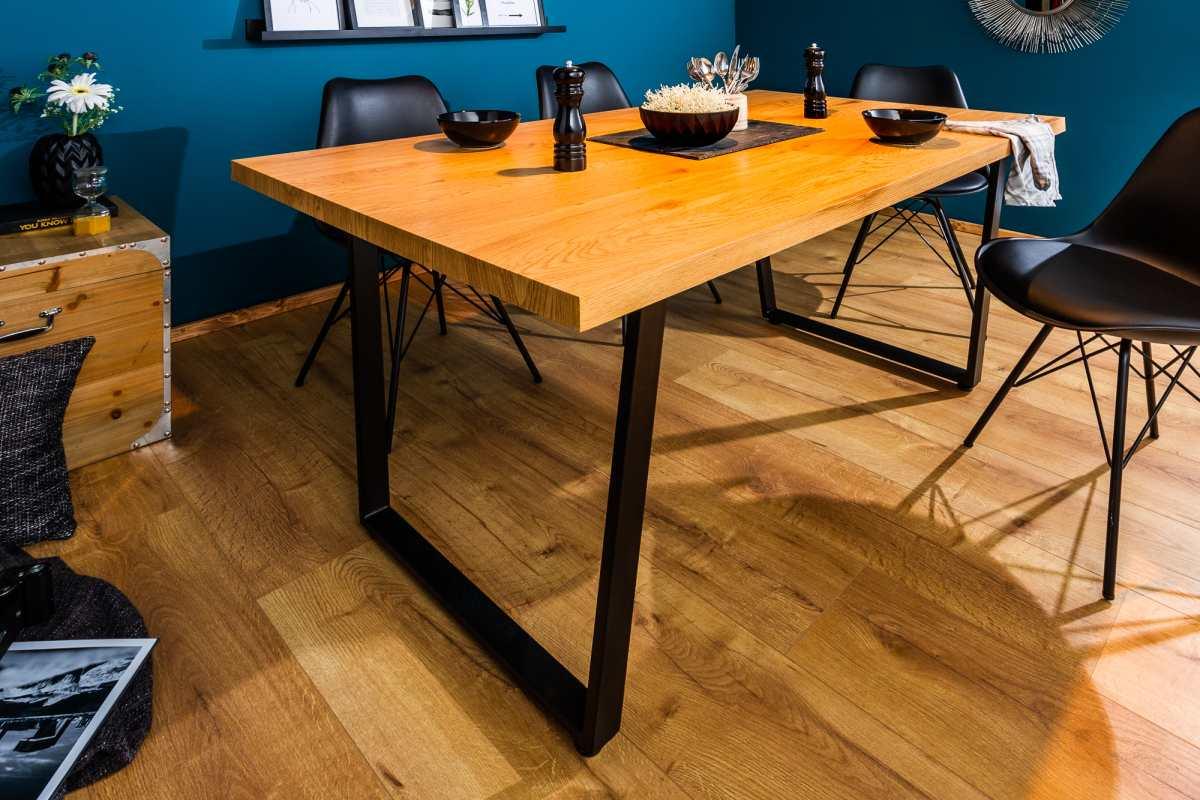 Dizajnový jedálenský stôl Bryant, 160 cm, dub