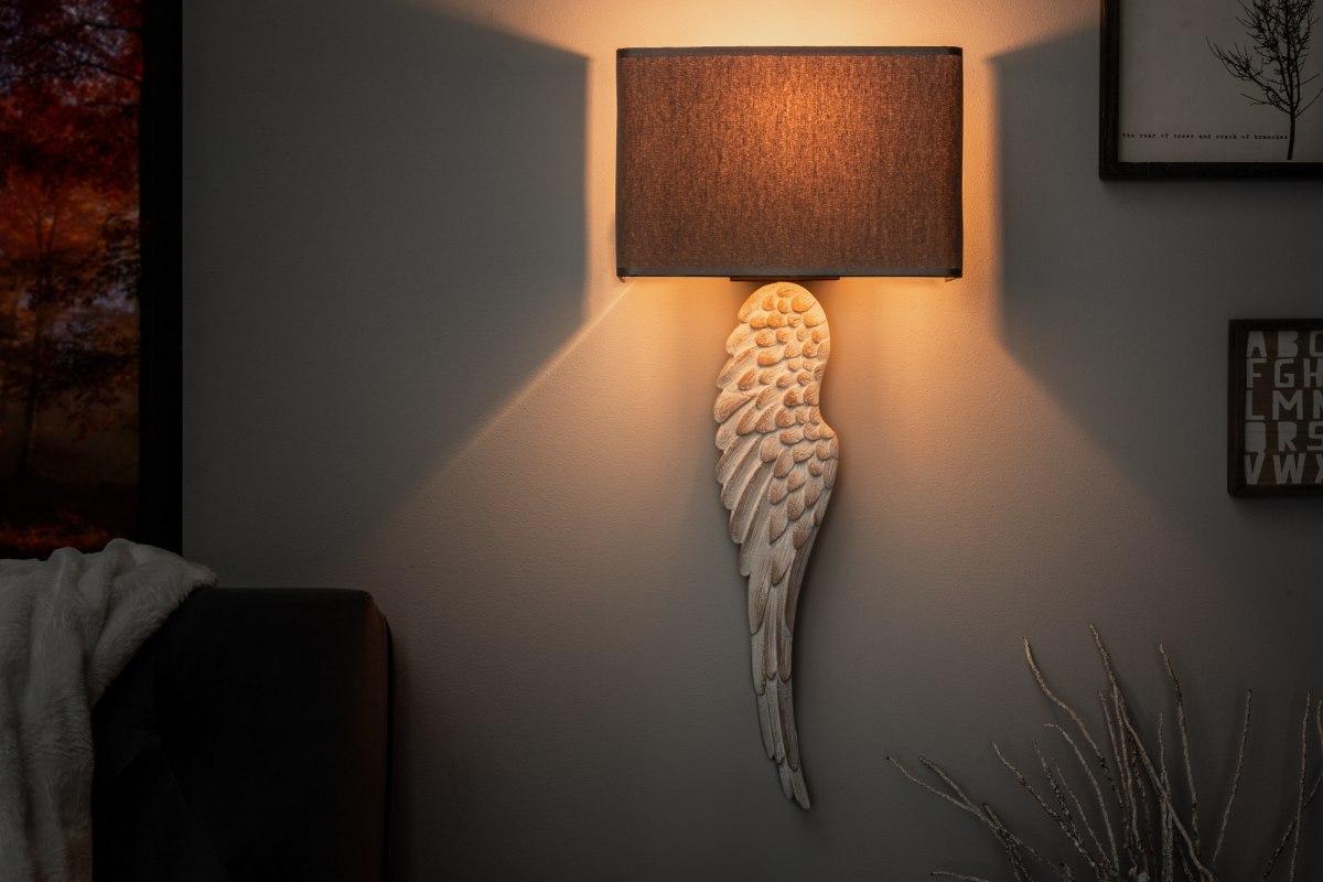 Dizajnová nástenná lampa Cullen, 70 cm