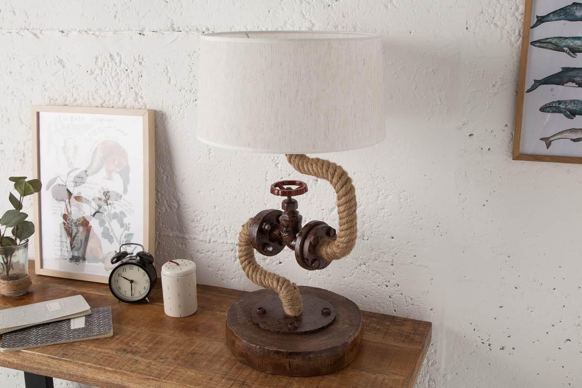 Dizajnová stolová lampa Nikolas, 60 cm