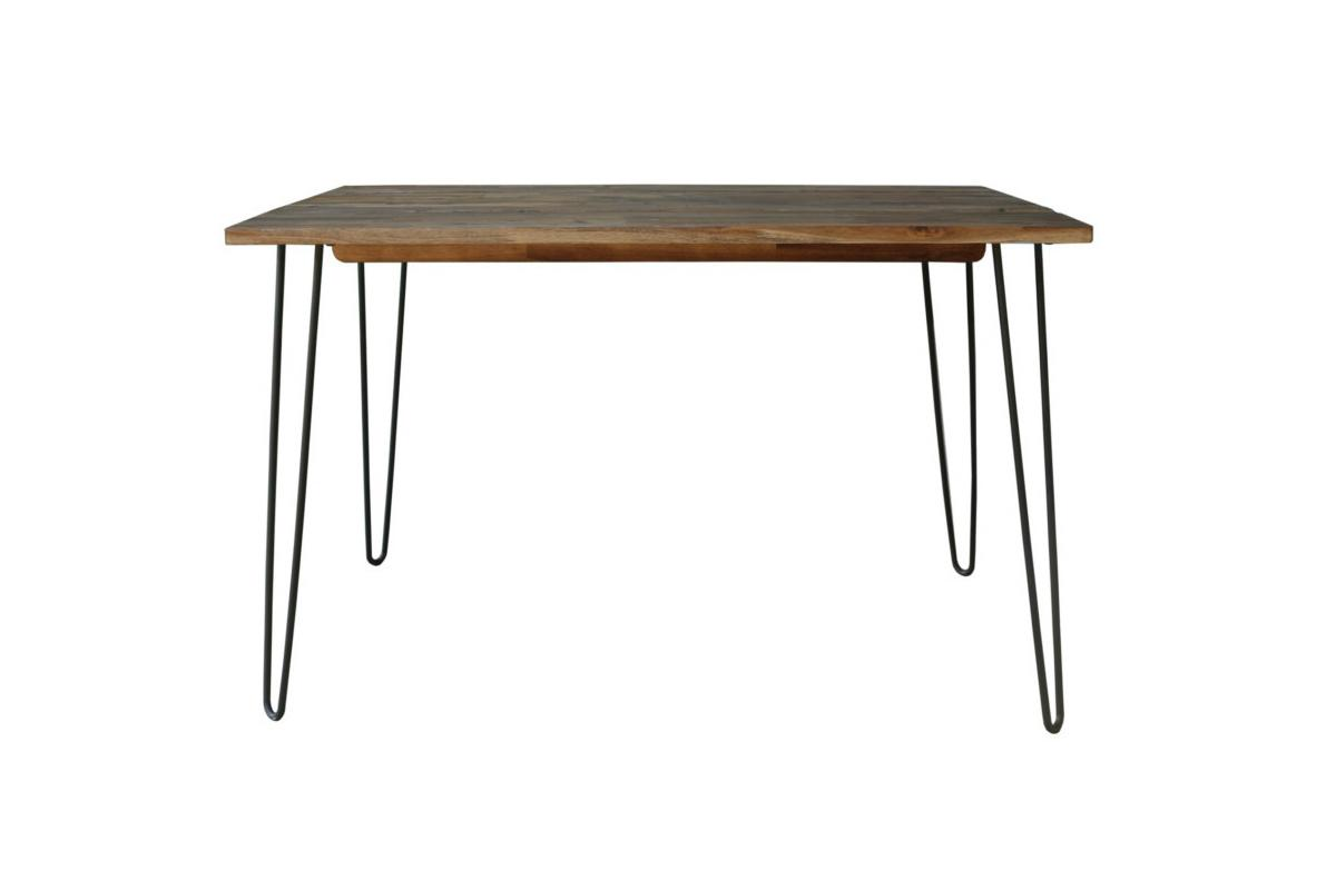 Jedálenský stôl Anaya, 120 cm, hnedý