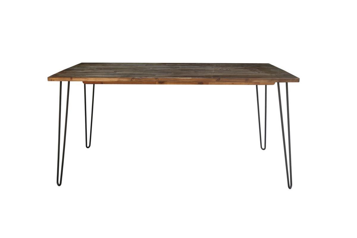 Jedálenský stôl Anaya, 160 cm, hnedý
