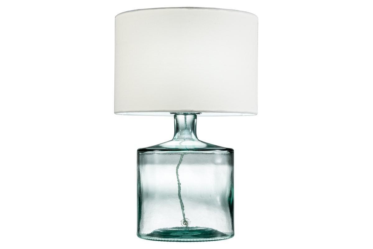 Stolová lampa Dylan, recyklované sklo