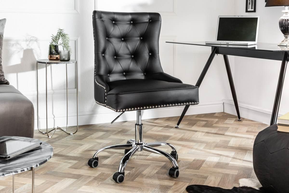 LuxD Kancelárska stolička Jett čierna
