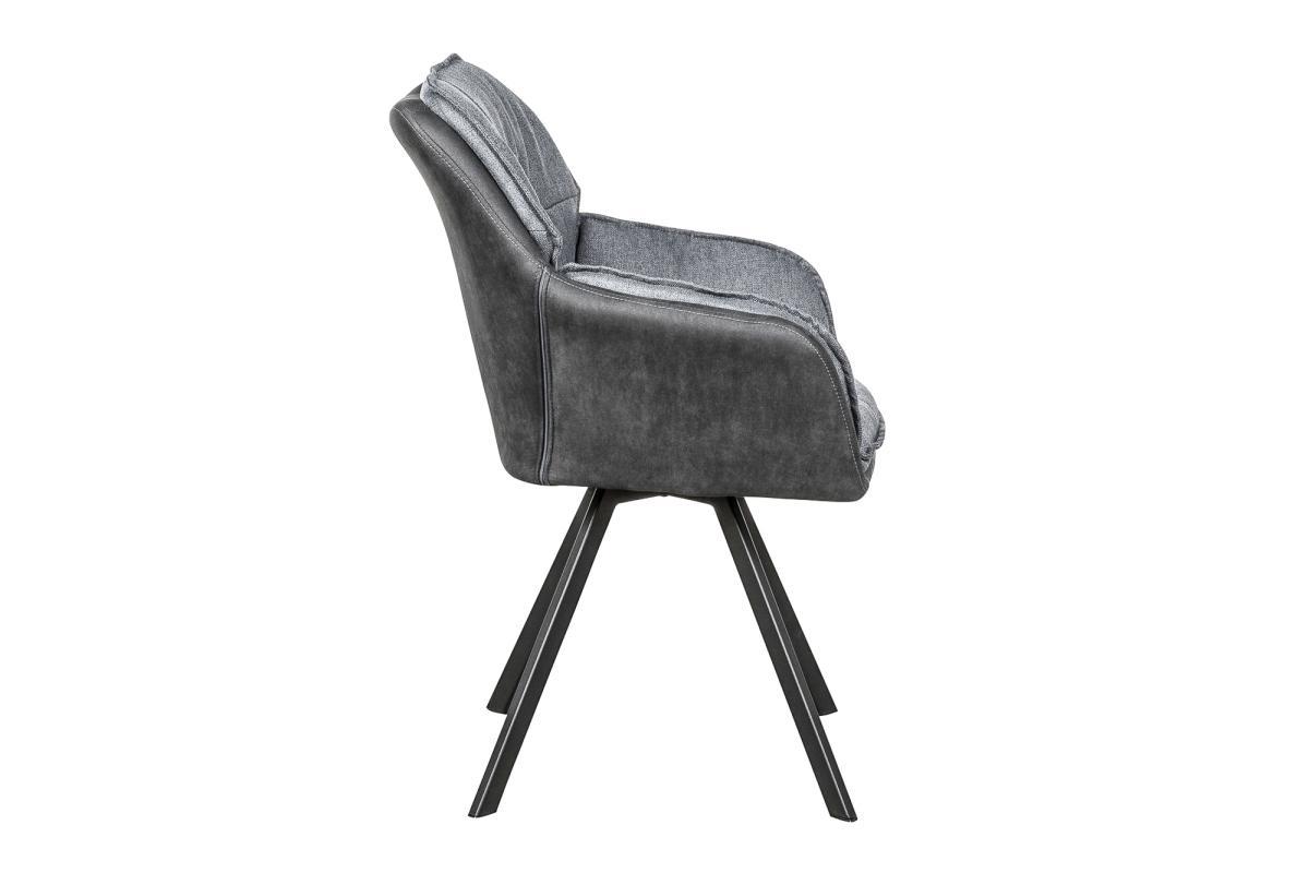 Dizjanová stolička Joe, antracit