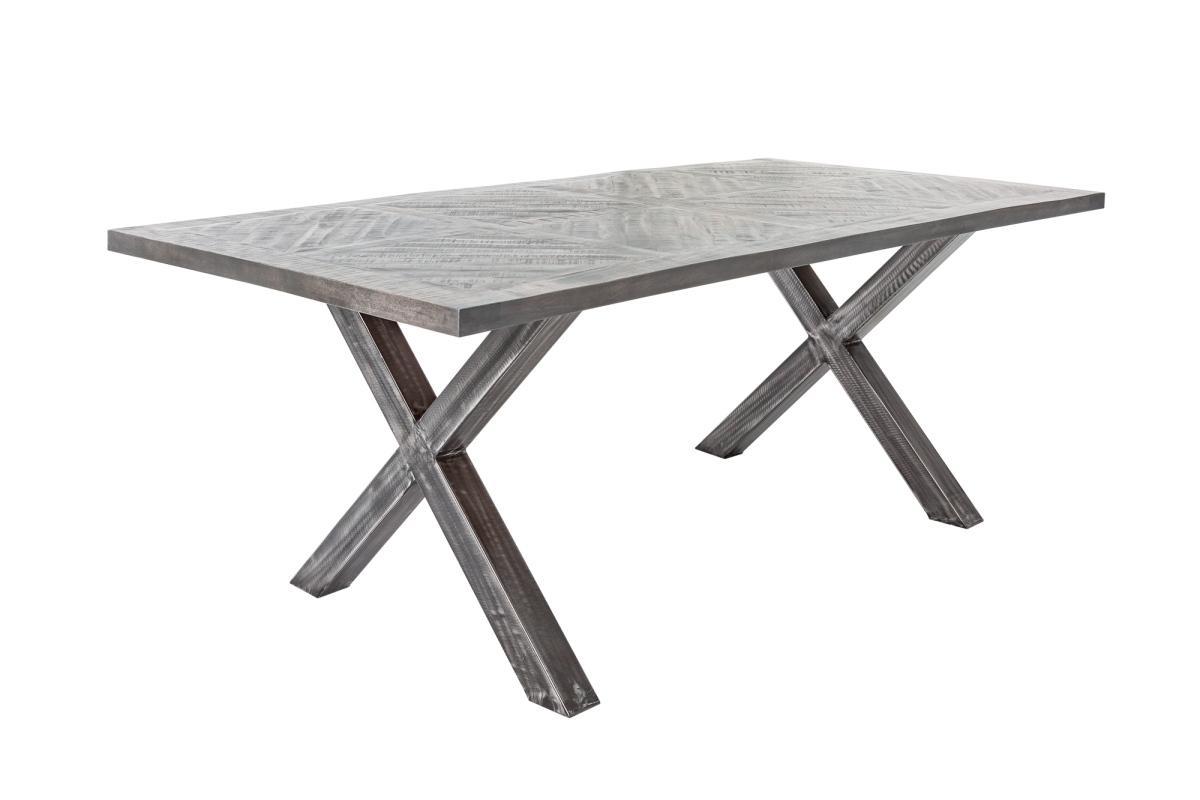 Dizajnový jedálenský stôl Allen Home 200 cm, sivé mango
