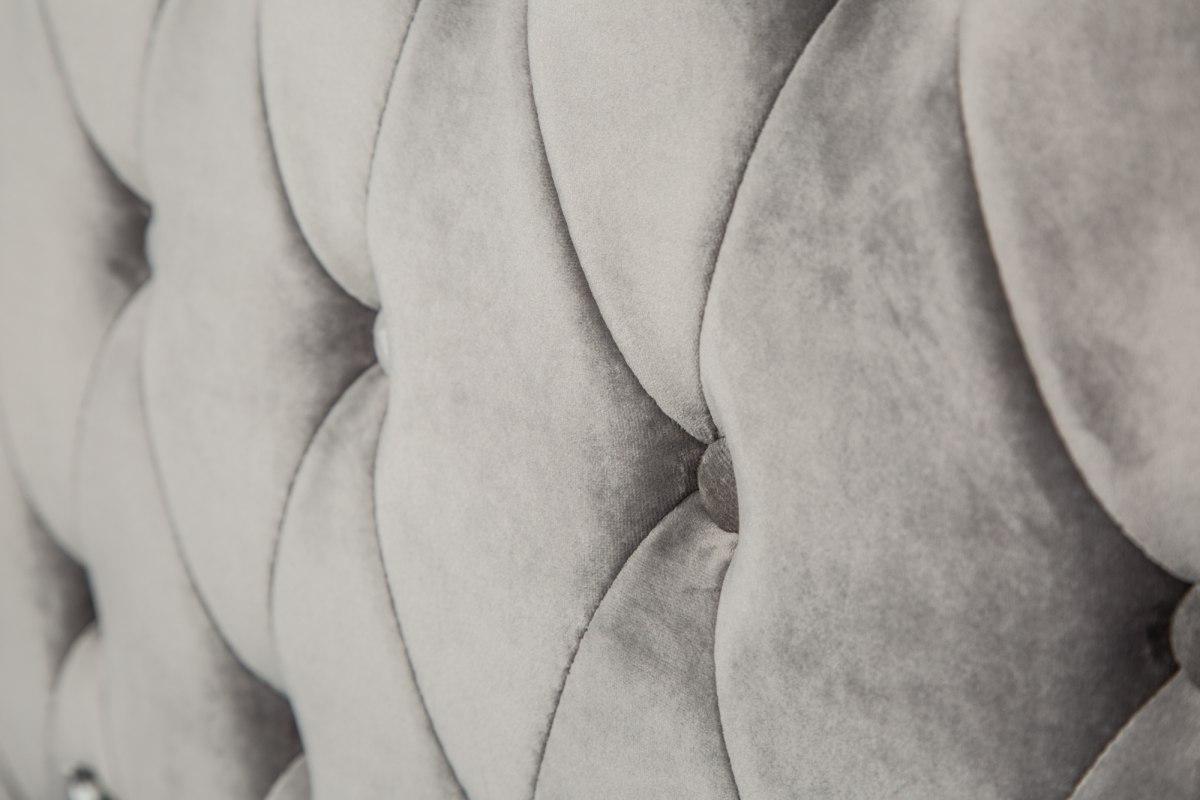 Posteľ Spectacular strieborno-sivá 200 x 160 cm