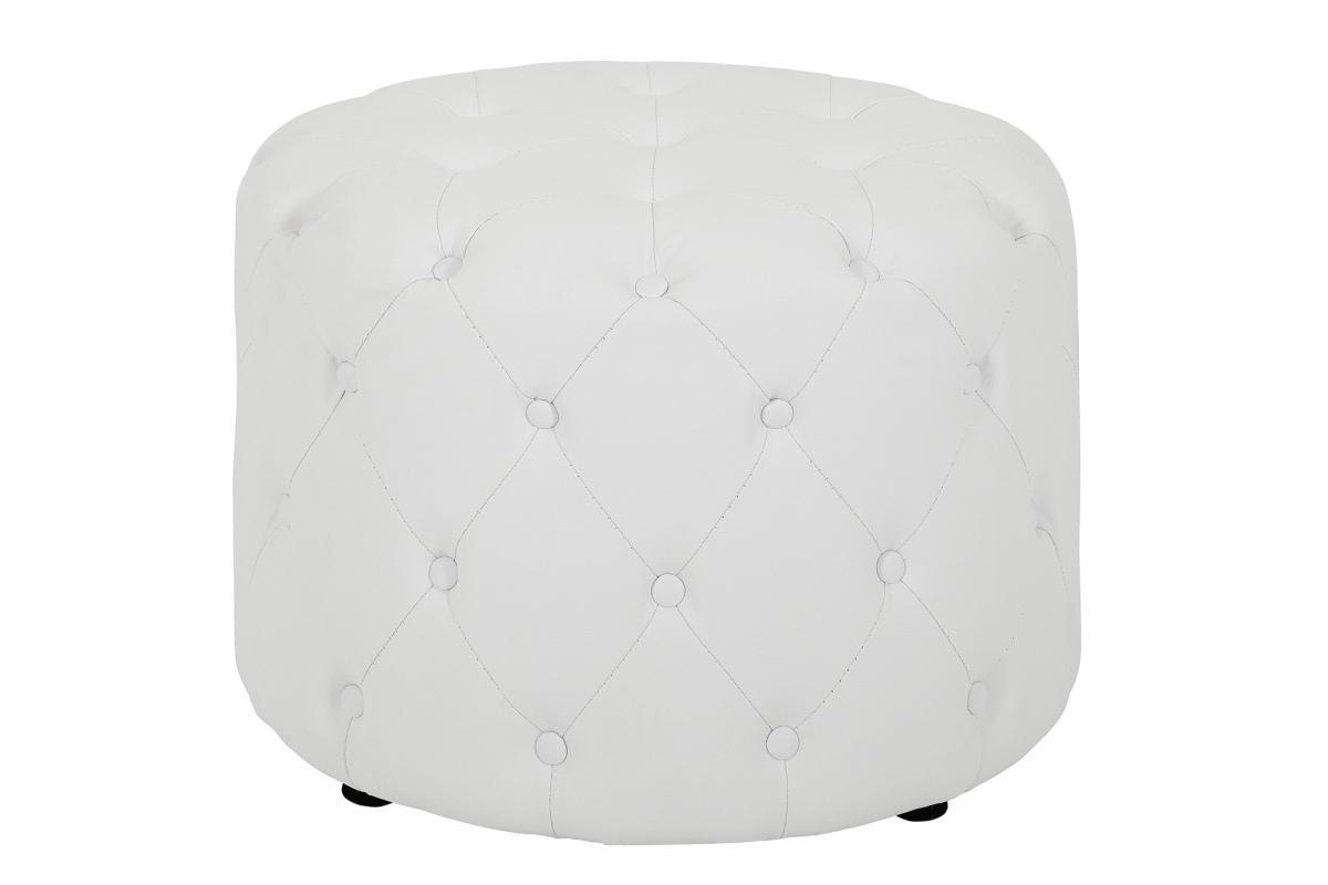 Dizajnová taburetka Iris, 60 cm, biela