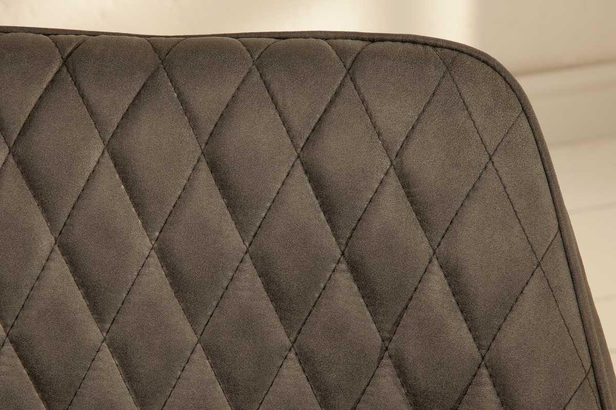 Dizajnová stolička Francesca, antracit