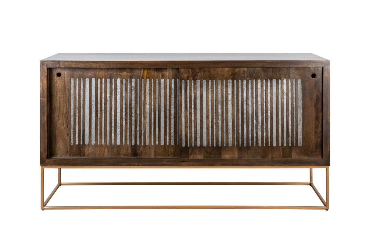 Dizajnová komoda Armani, 160 cm, mango / achát