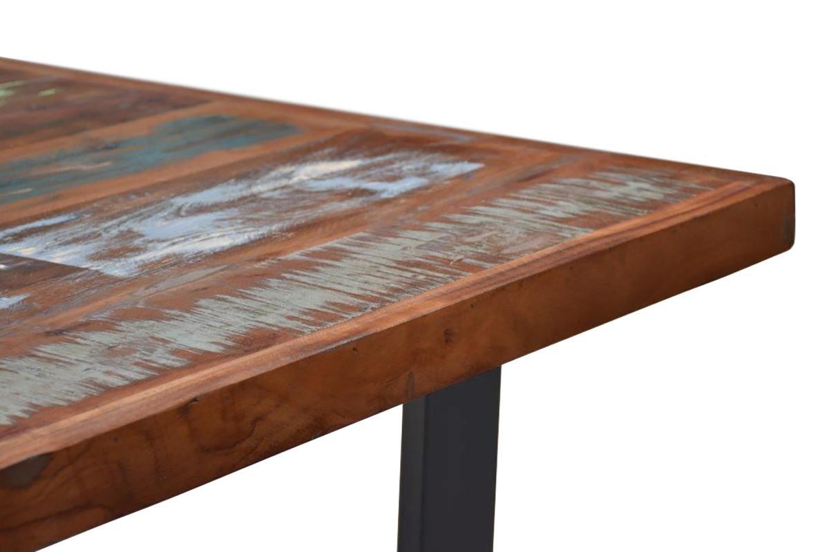 Dizajnový jedálenský stôl Jacktar, 160 cm, recyklované drevo