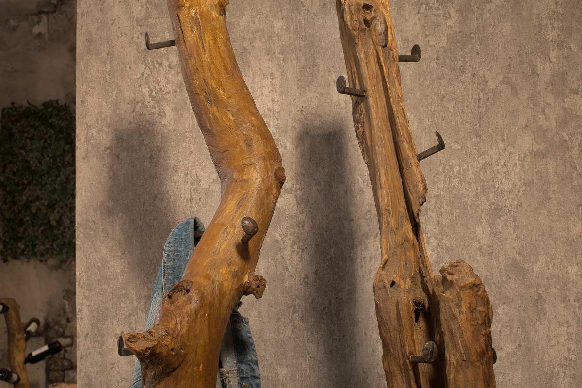 Dizajnový vešiak Lyric, 200 cm, teak