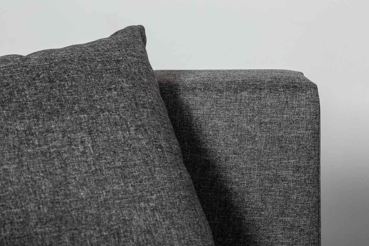 Rozkladacia rohová sedačka Alanna, 340 cm, tmavosivá