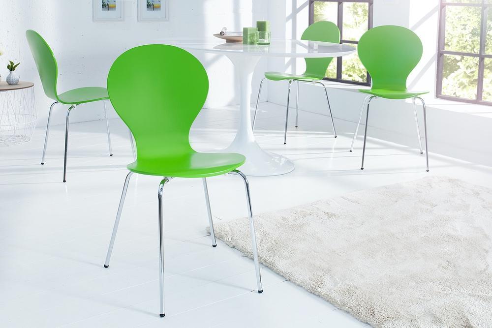 Stolička Frame zelená