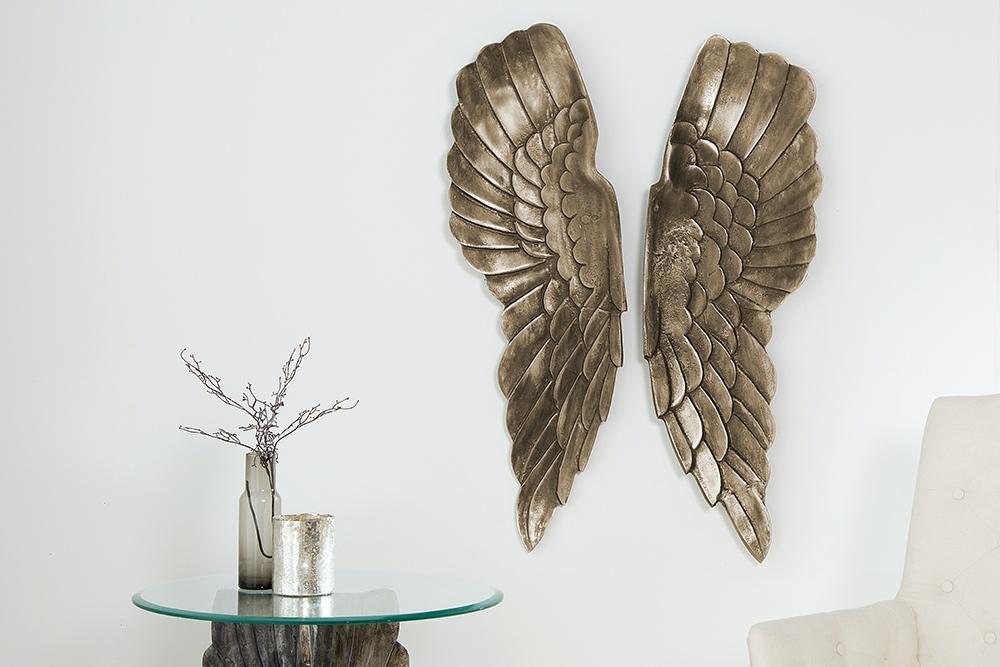 Nástenná dekorácia Angel 65 cm