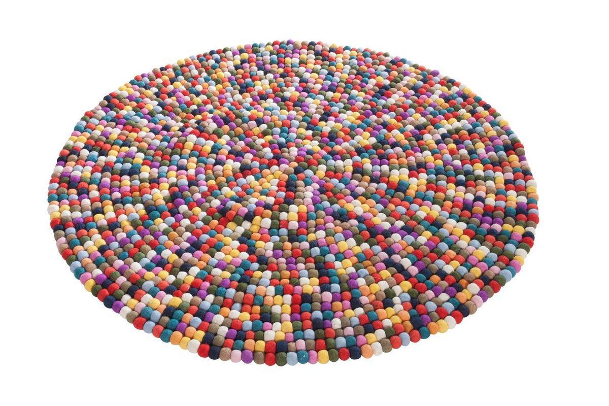 Dizajnový koberec Rainbow 100 cm