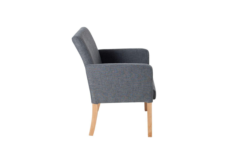 Dizajnová stolička Clemente sivá