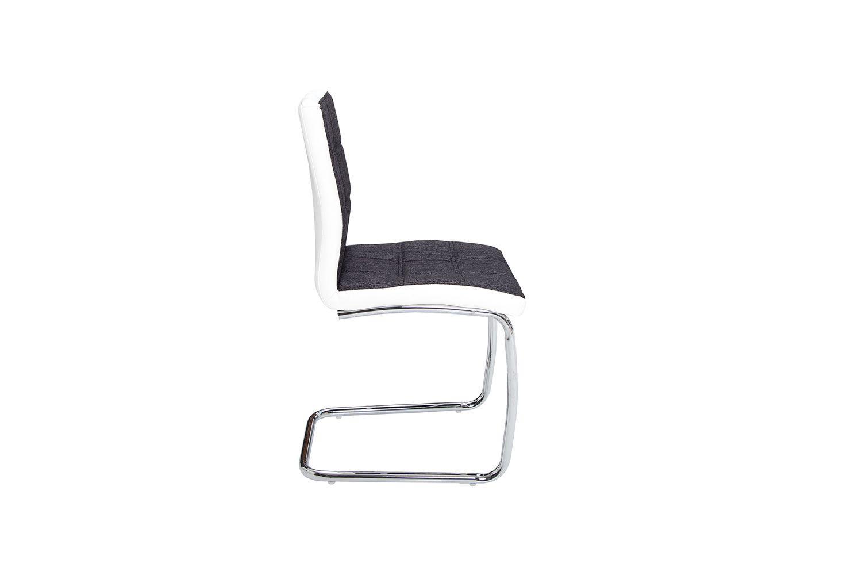 Dizajnová stolička Moderna / antracitová -biela