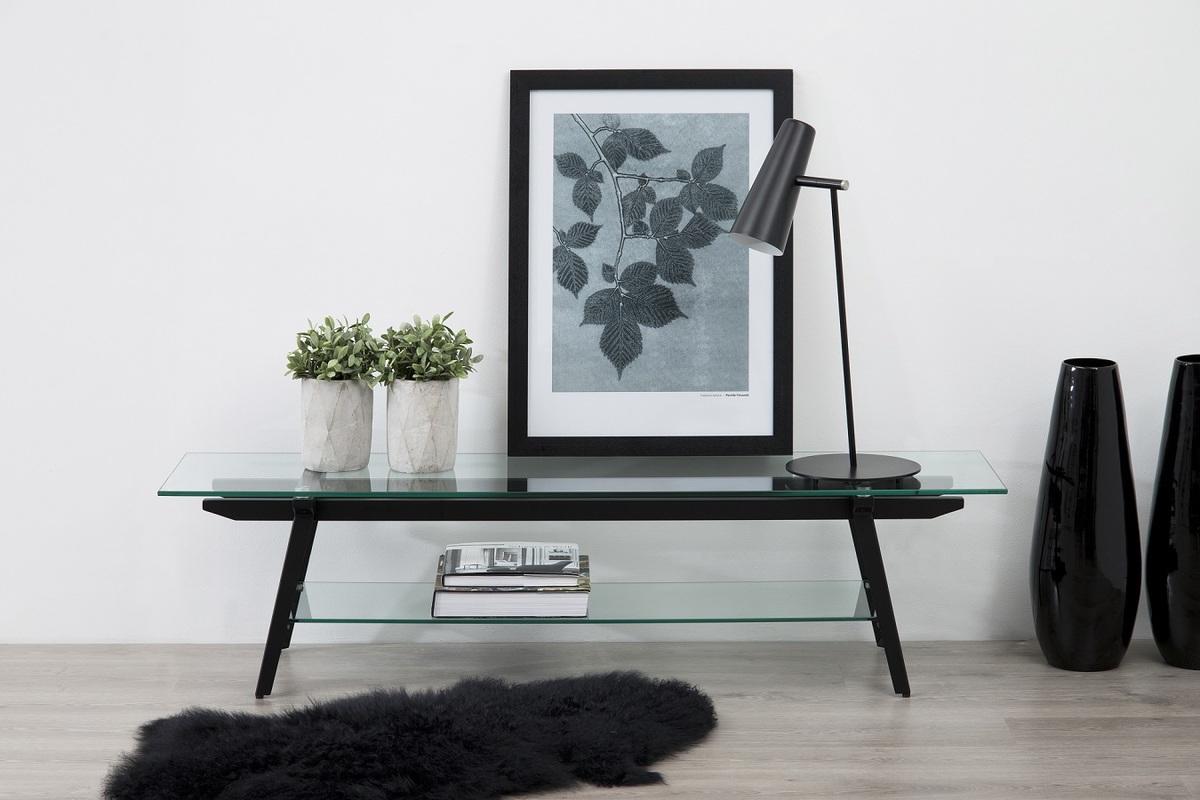 Dkton Moderný TV stolík Absalom, 160 cm