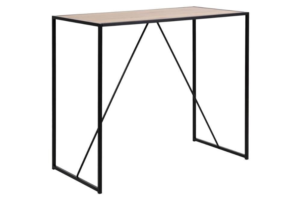 Dkton Barový stôl Naja 120 cm divoký dub