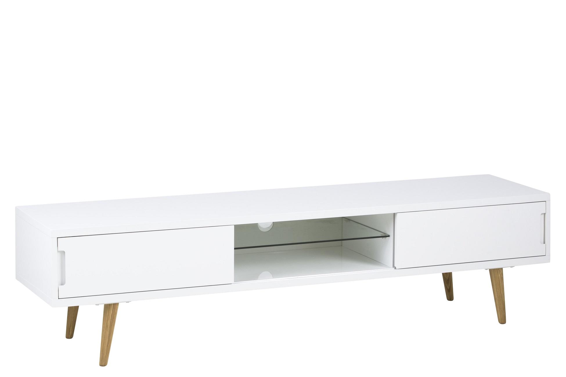 Dkton Štýlový TV stolík Airton, 180 cm