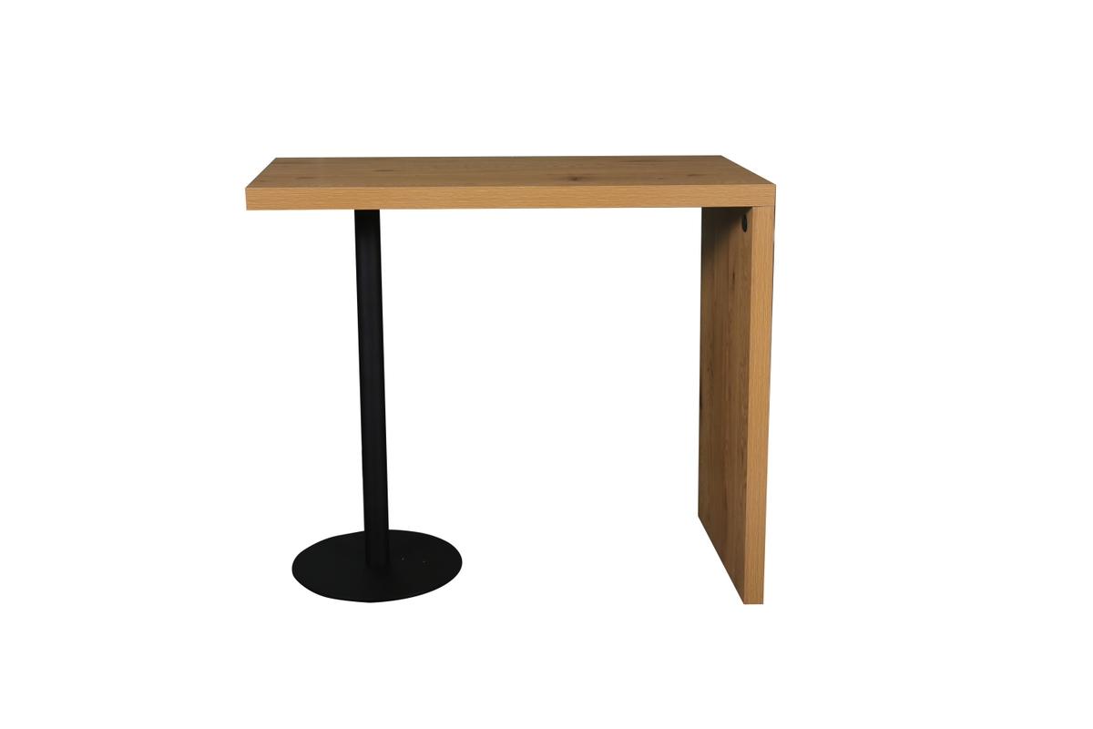 LuxD Štýlový barový stôl Neat dubový vzor